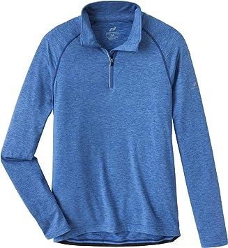 611f941fa46b0d Pro Touch T-Shirt lang Cusco Melange Black  Amazon.de  Sport   Freizeit