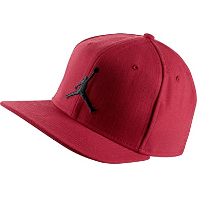 11abfeb3644 NIKE Mens Air Jordan Jumpman Fitted Hat Gym Red Black 619359-695 ...