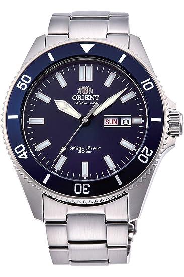 Orient Reloj Analógico para Hombre de Automático con Correa en Acero Inoxidable RA-AA0009L19B: Amazon.es: Relojes