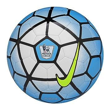 Nike Pitch PL - Balón Unisex, Color Azul/Negro/Blanco, Talla 5 ...