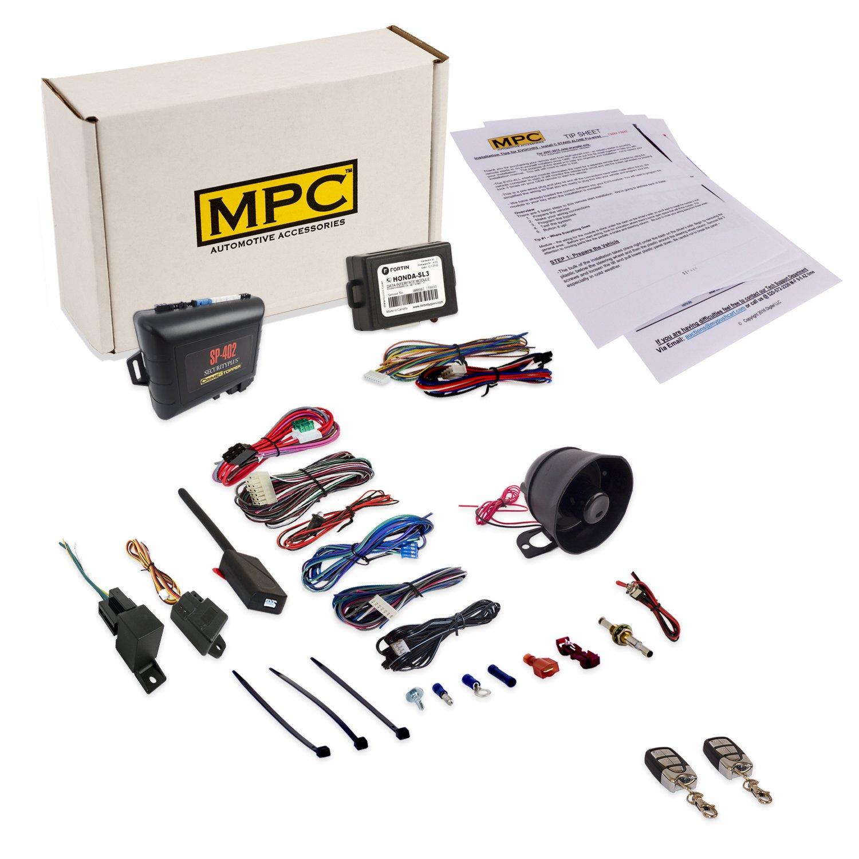 Amazon.com: MPC Remote Car Starter & Car Alarm Includes Keyless Bypass  Honda & Acura Vehicle: Automotive