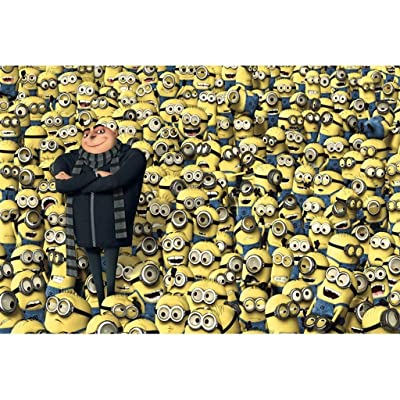 GJUNK Puzzles for Adults, Despicable Me Minions Jigsaw Puzzle (300,500,1000 Pieces) GJUNK (Color : C, Size : 500pc): Garden & Outdoor