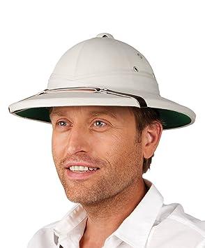 233c4f4da1b63 Safari Pith Helmet - Grey (gorro sombrero)  Amazon.es  Juguetes y juegos