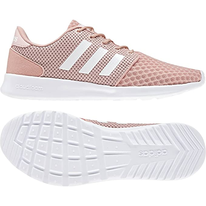 5abe7aae804907 Cloudfoam QT Racer Shoes - Womens - Pink White Ice Pink  Amazon.co.uk   Sports   Outdoors
