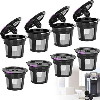 LivingAid 8 packs Reusable K-Cup