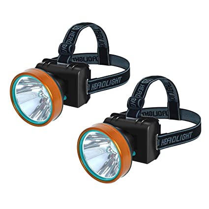 Ousman Outdoor LED super bright Headlamp Rechargeable Headlight 2600ft Bright Range 2 modes, for climbing