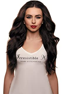 Amazon 22 clip in remy human hair extensions 2 dark brown irresistible me clip in hair extensions chocolate brown color 2 100 pmusecretfo Image collections