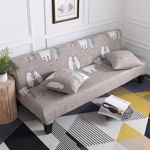 H&C Prited Cubierta de sofá elástico,Sala de Estar de Moda ...