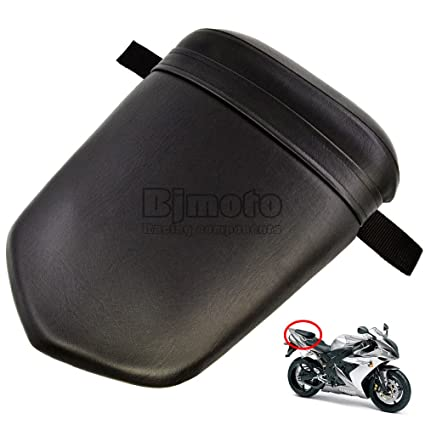 Amazon.es: Motocicleta Negro trasero Asiento del pasajero ...