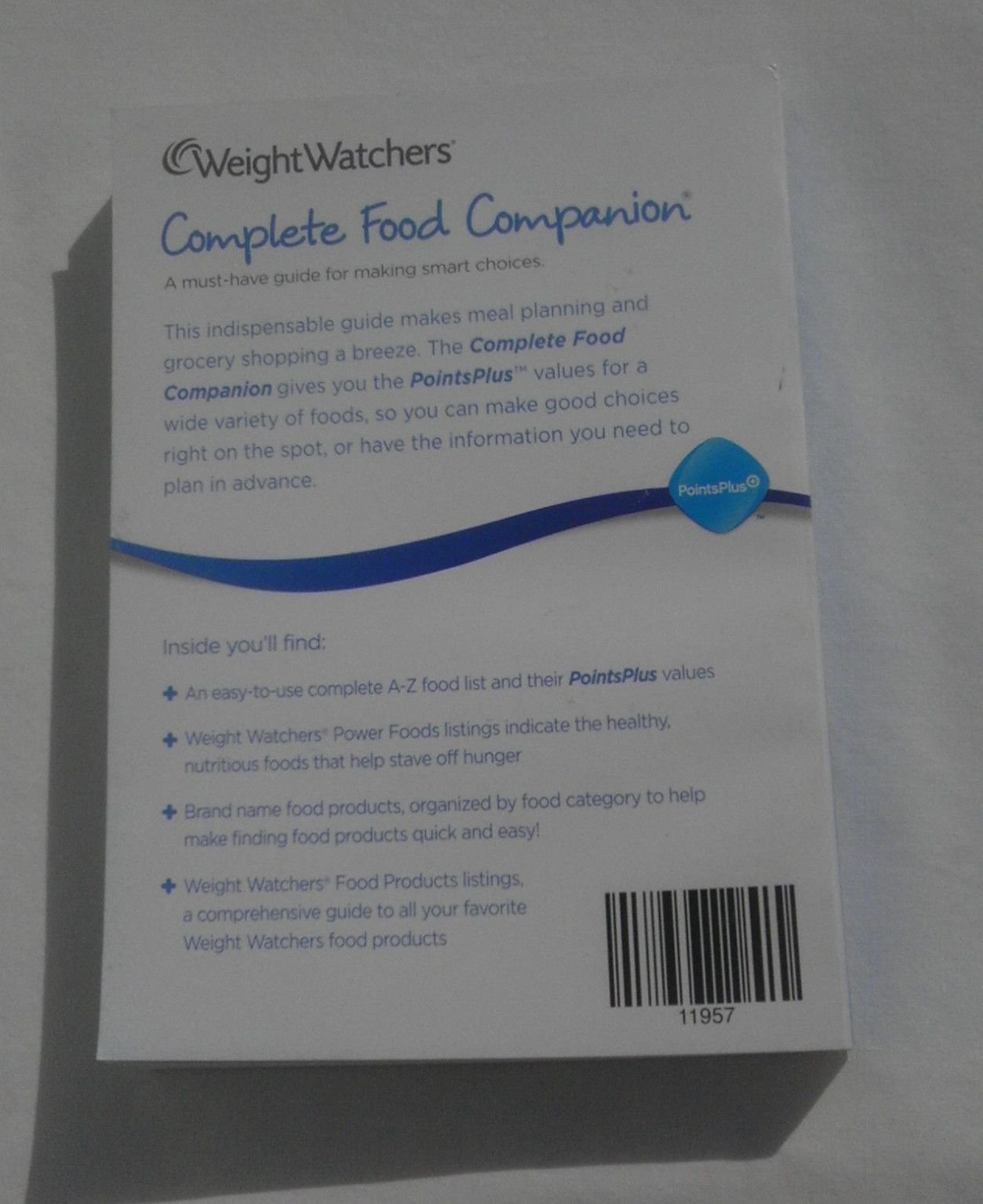 Weight Watchers Points Plus Complete Food Companion 2011 Food