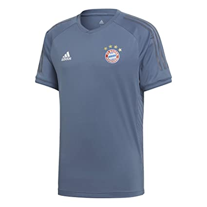 835273be6ac Image Unavailable. Image not available for. Color: adidas 2018-2019 Bayern  Munich UCL Training Football Soccer T-Shirt Jersey ...