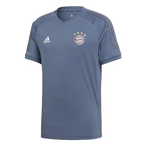 Adidas FCB EU TR JSY - Camiseta de Entrenamiento FC Bayern de Múnich ... 0506aa6c45423