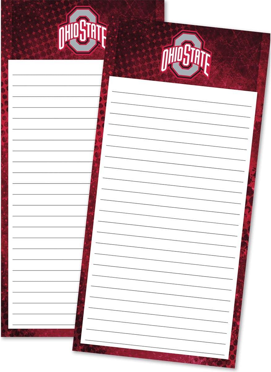 TURNER SPORTS Ohio State Buckeyes 2 Pack List Pad (8129111)