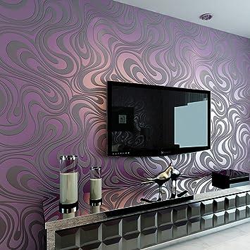 3D Abstrakt Wohnzimmer Tapeten Luxus Vliestapete Fernseher ...