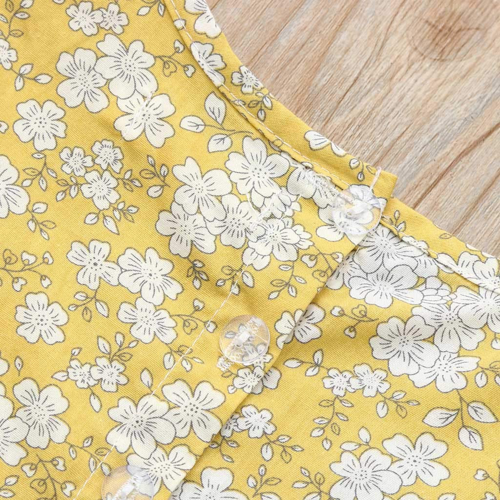 Baby Girls Dress Floral Ruffles Little Princess Dress for Toddler Kids Newborn Baby Girl Skirt Clothing