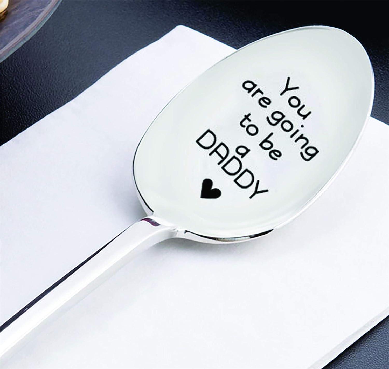 You re going to be a Daddy spoon Fun Ank/ündigung ideas-husband Geschenk idea-dads Geschenk Schwangerschaft Reveal spoon