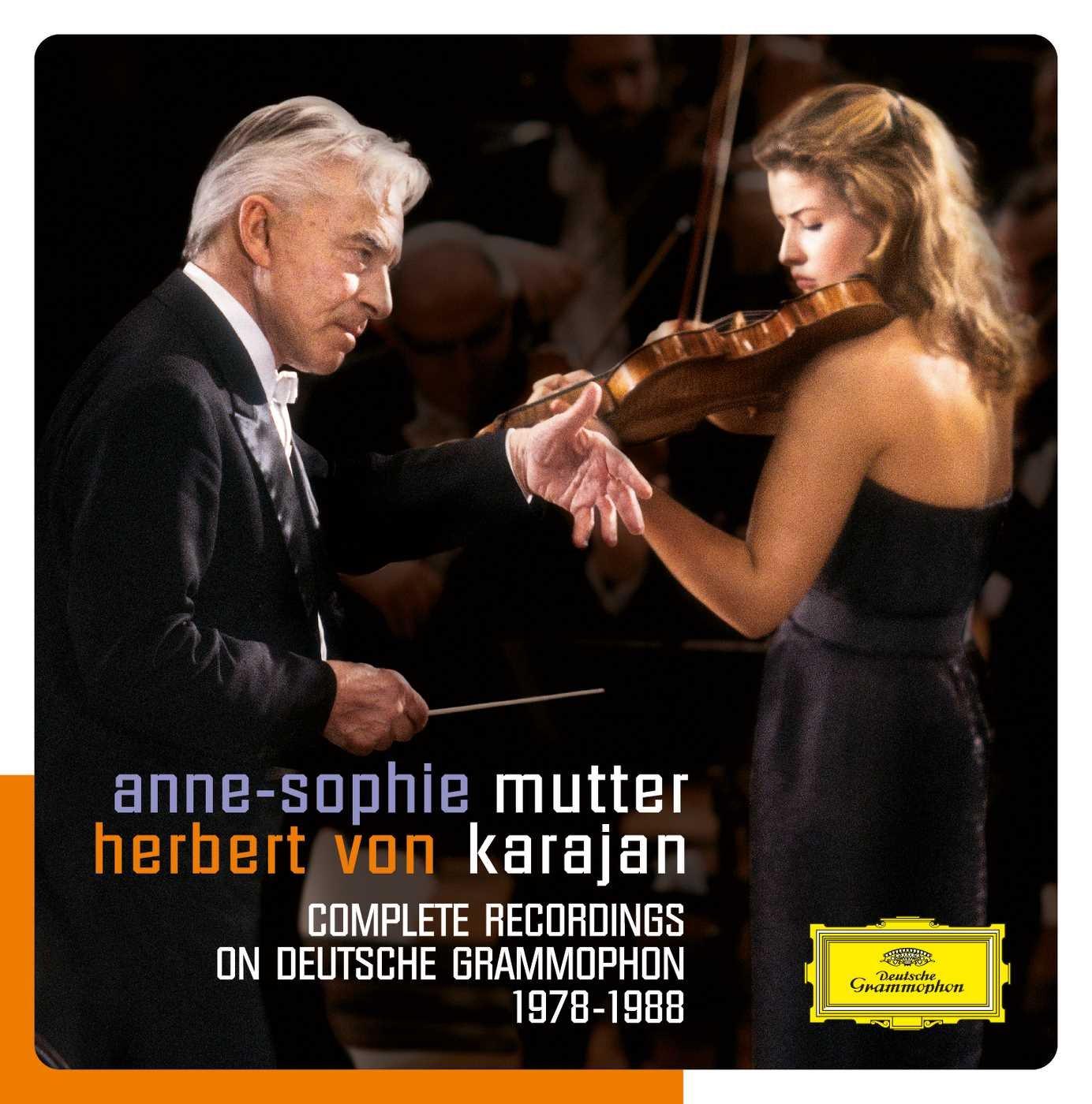 Mutter - Karajan: Complete Recordings on Deutsche Grammophon (1978-1988) by DEUTSCHE GRAMMOPHON, VARI, BOX CLASSICA,