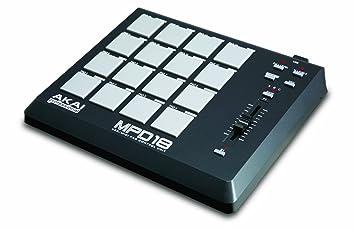 Amazon.com: Akai Professional MPD18 Compact Pad Controller ...