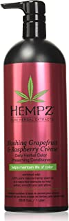 product image for Hempz Hempz blushing grapefruit & raspberry creme color preserving herbal conditioner, 33.8 fluid ounce, 33.8 Ounce