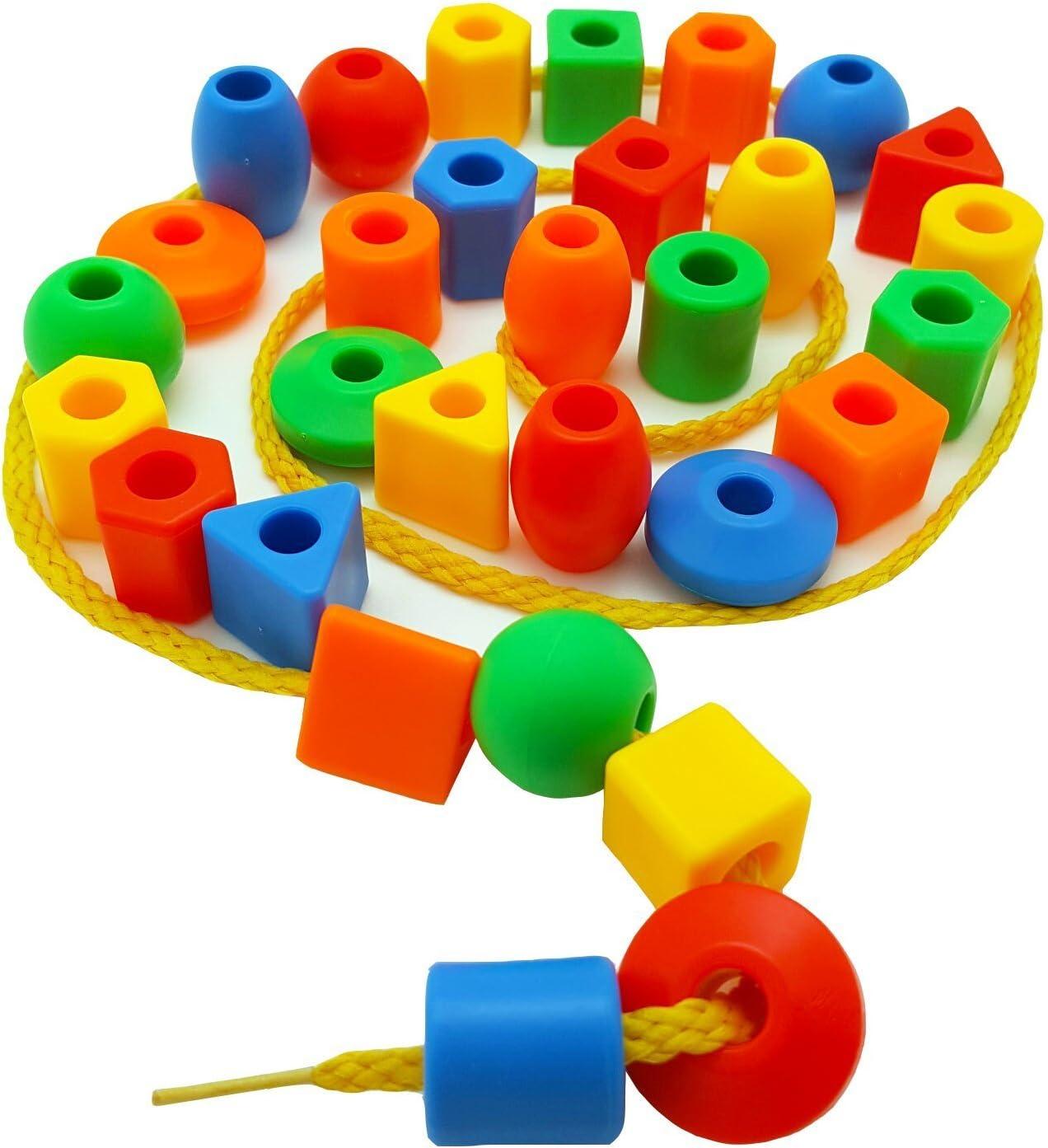 Skoolzy Preschool Lacing Beads for Kids