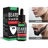 Beard Growth Oil, Natural Organic Hair Growth Oil Beard Oil Enhancer Facial Nutrition Moustache Grow Beard Shaping Tool Beard