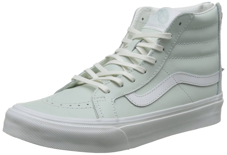 Vans Unisex Sk8-Hi Slim Women's Skate Shoe B01I2B3AI2 8-Women/6.5-Men Medium (D, M) US|Zephyr Blue