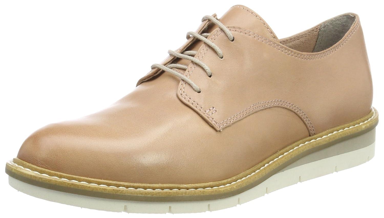 Tamaris 23202, Zapatos de Cordones Oxford para Mujer 37 EU Rosa (Rose Leather)