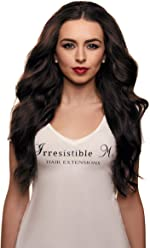 IRRESISTIBLE ME – Clip in Hair Extensions Chocolate Brown (#2) 100% Natural