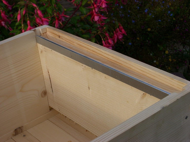 12x apicoltura National Bee HIVE telaio in acciaio, mm (6paia) mm (6paia) Simonthebeekeeper