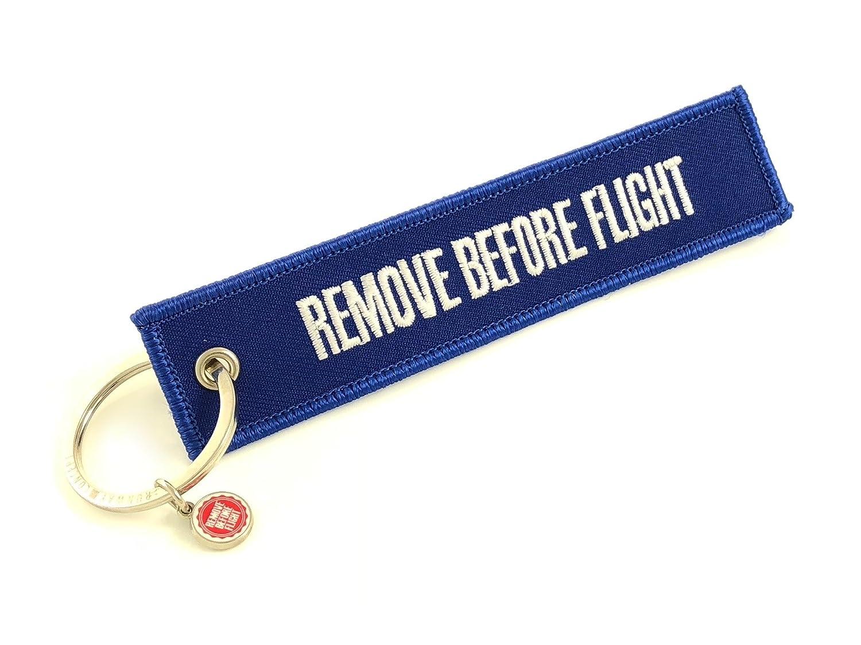 Schlüsselanhänger - Remove Before Flight - Rot Runway Concept