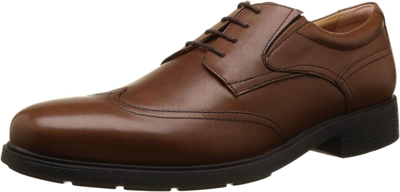 Geox U Dublin A, Zapatos de Cordones Derby para Hombre