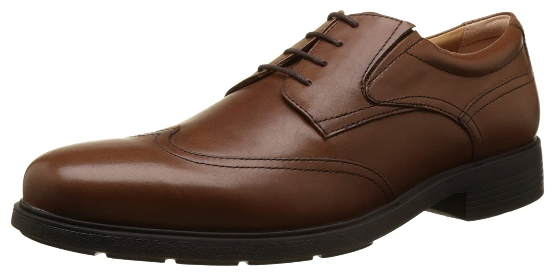 TALLA 40 EU. Geox U Dublin A, Zapatos de Cordones Derby para Hombre
