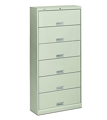 HON 6-Shelf Filing Cabinet - 600 Series Metal Pull Shelf File Light Gray  sc 1 st  Amazon.com & Amazon.com: HON 6-Shelf Filing Cabinet - 600 Series Metal Pull Shelf ...