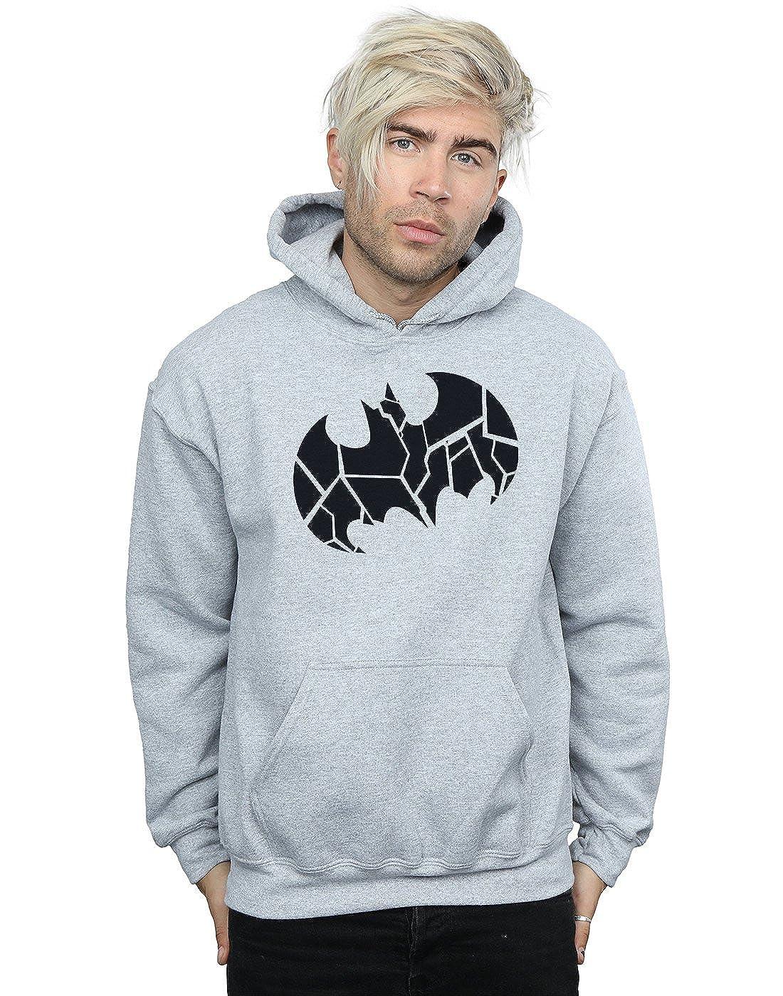 DC Comics Herren Batman One Colour Shield Kapuzenpullover