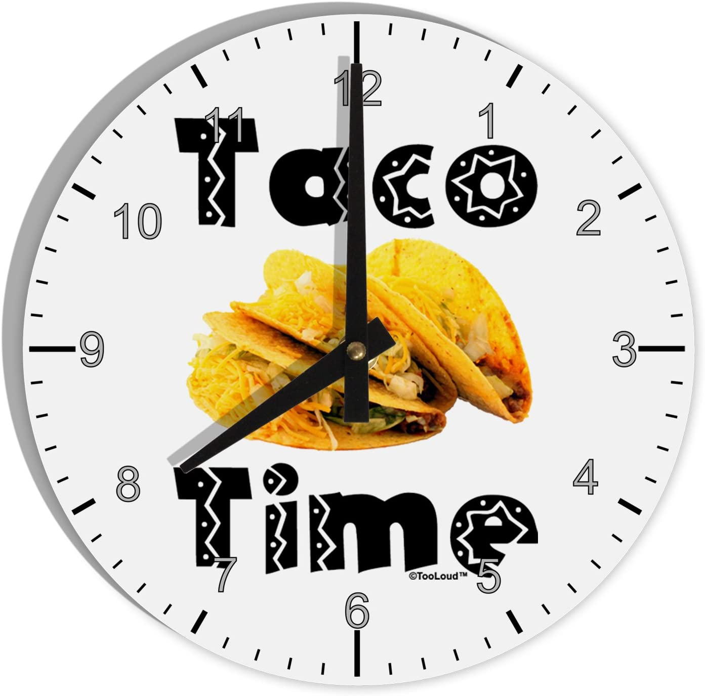 TOOLOUD Taco Time - Mexican Food Design 8