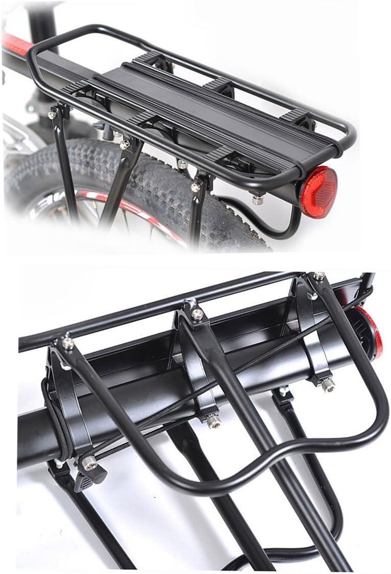 ThreeH V/élo Porte Bagagec en aluminium R/églable Transporteur Porte-bagages arri/ère avec r/éflecteur BK43