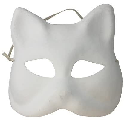 Artemio - Máscara decorativa, diseño de gato