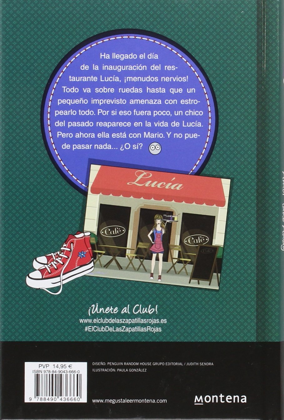 El Club de las Zapatillas Rojas 9. Amor take away: Ana Punset: 9788490436660: Amazon.com: Books