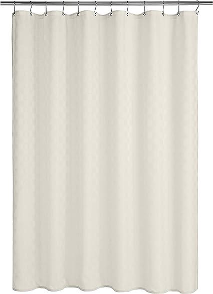 183 x 183 cm bianco Basics Tenda da doccia Bowery in poliestere