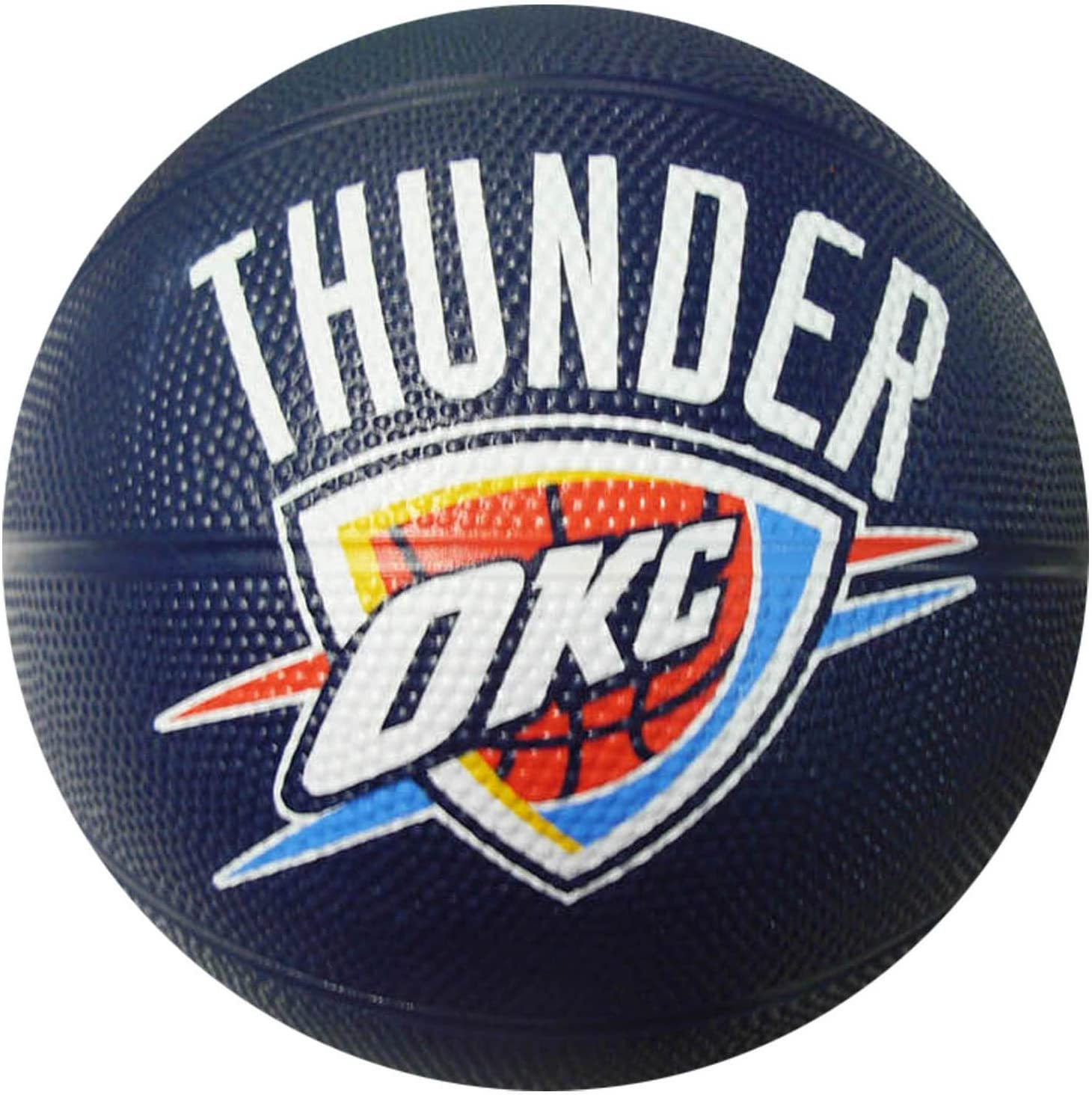 Spalding NBA Oklahoma City Thunder Mini Rubber Basketball : Sports Fan Basketballs : Sports & Outdoors