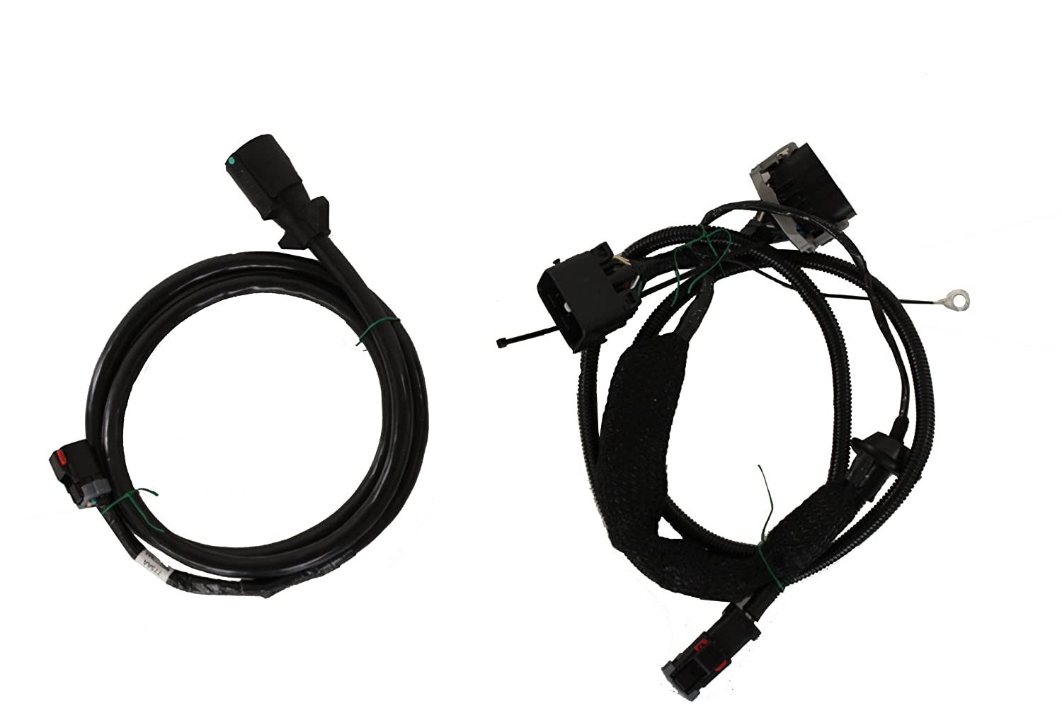 71x 3dYH2ML._SL1500_ amazon com 2007 2013 jeep wrangler tow vehicle wiring harness wiring harness for towing a jeep at gsmx.co