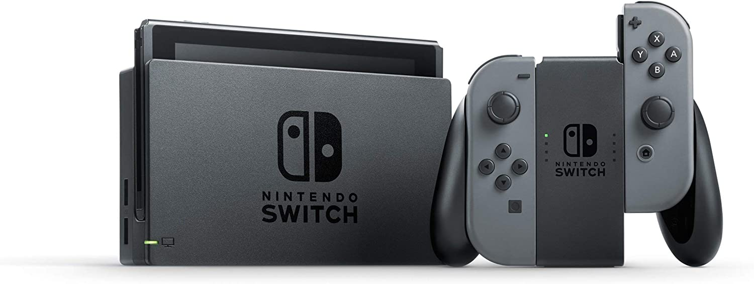 Nintendo Switch - Consola Color Gris (Modelo antiguo): Nintendo ...