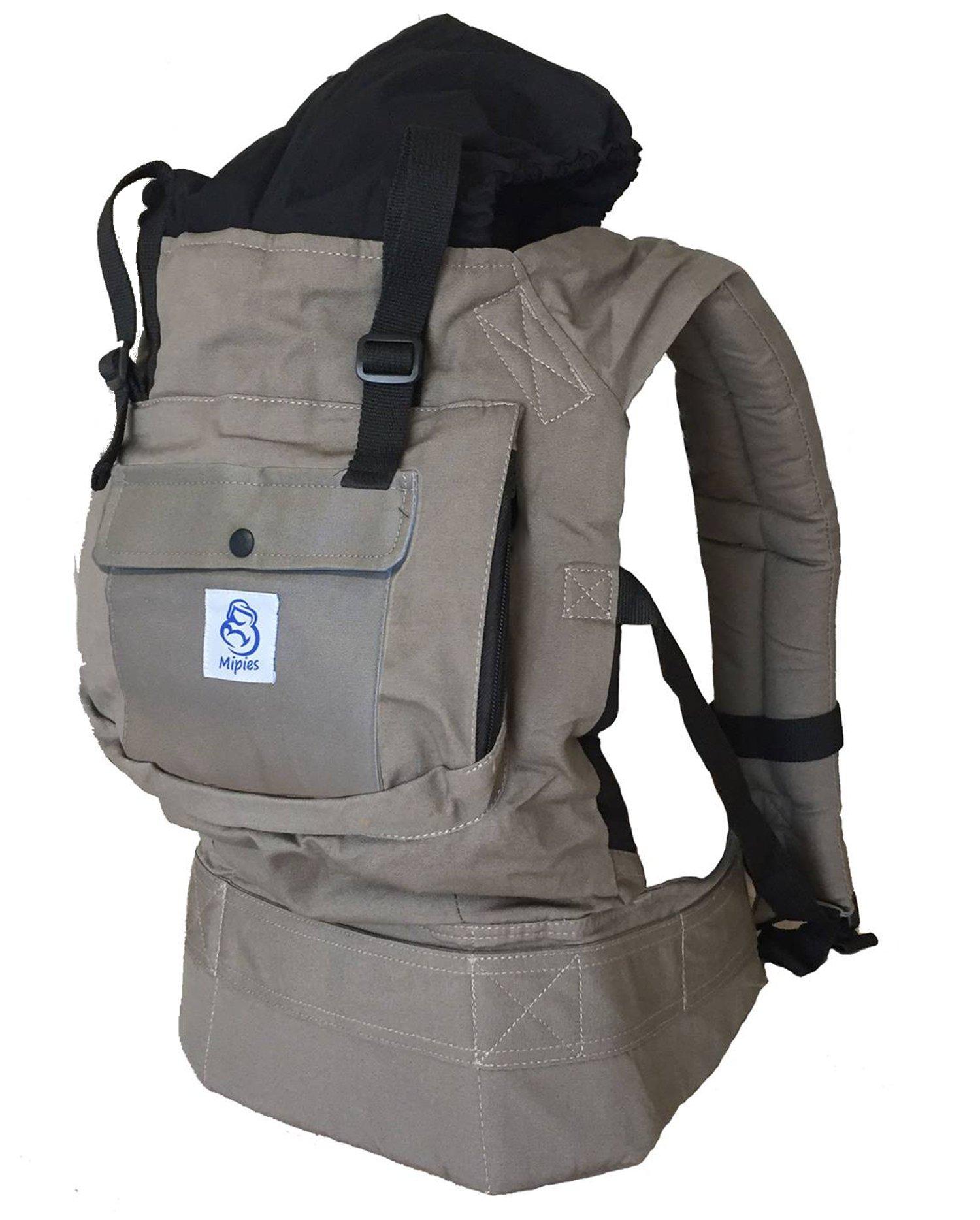 Porte-bébé pour porter votre bébé Mains libres - Porte bébé ergonomique Multiples  positions   143dfcf274c
