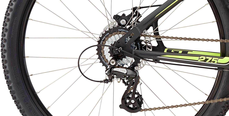 GTT 27.5 Mountain Bike MTB GT Aggressor Comp Black/Neon Yellow ...