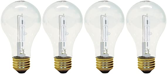 Amazon.com: GE Lighting - Bombilla A19 (base media, 4 ...