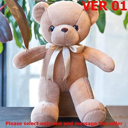 Amazon.com: LQT Ltd - Cojín de peluche con diseño de oso de ...