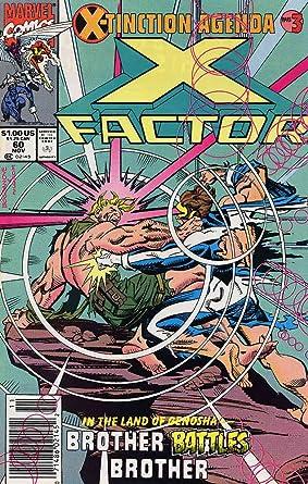Amazon.com: X-Factor #60 VF/NM ; Marvel comic book ...