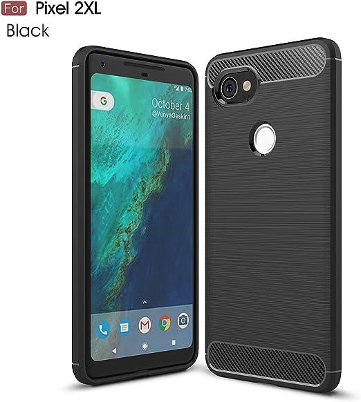 pinlu® Funda para Google Pixel 2 XL Suave TPU Gel Silicona Case ...