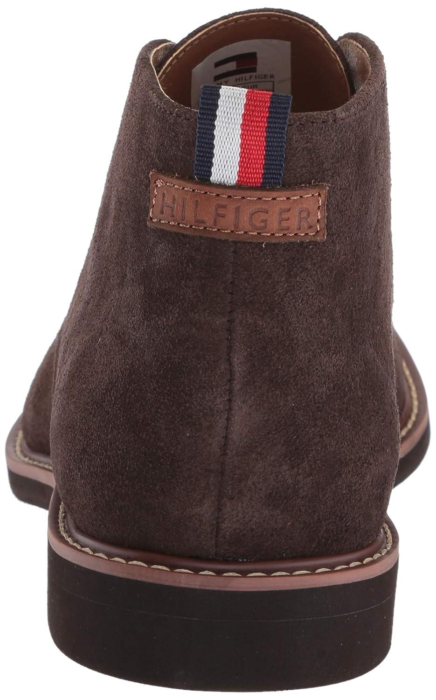 c0dd11d41 Amazon.com  Tommy Hilfiger Men s Gervis Chukka Boot  Shoes