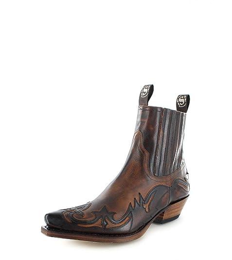 45d27546bd Sendra Boots 4660 - Botas De Vaquero de cuero hombre  Amazon.es  Zapatos y  complementos